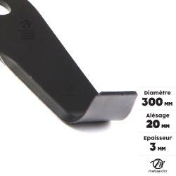 lame et couteau pour d brousailleuse matijardin p r web. Black Bedroom Furniture Sets. Home Design Ideas