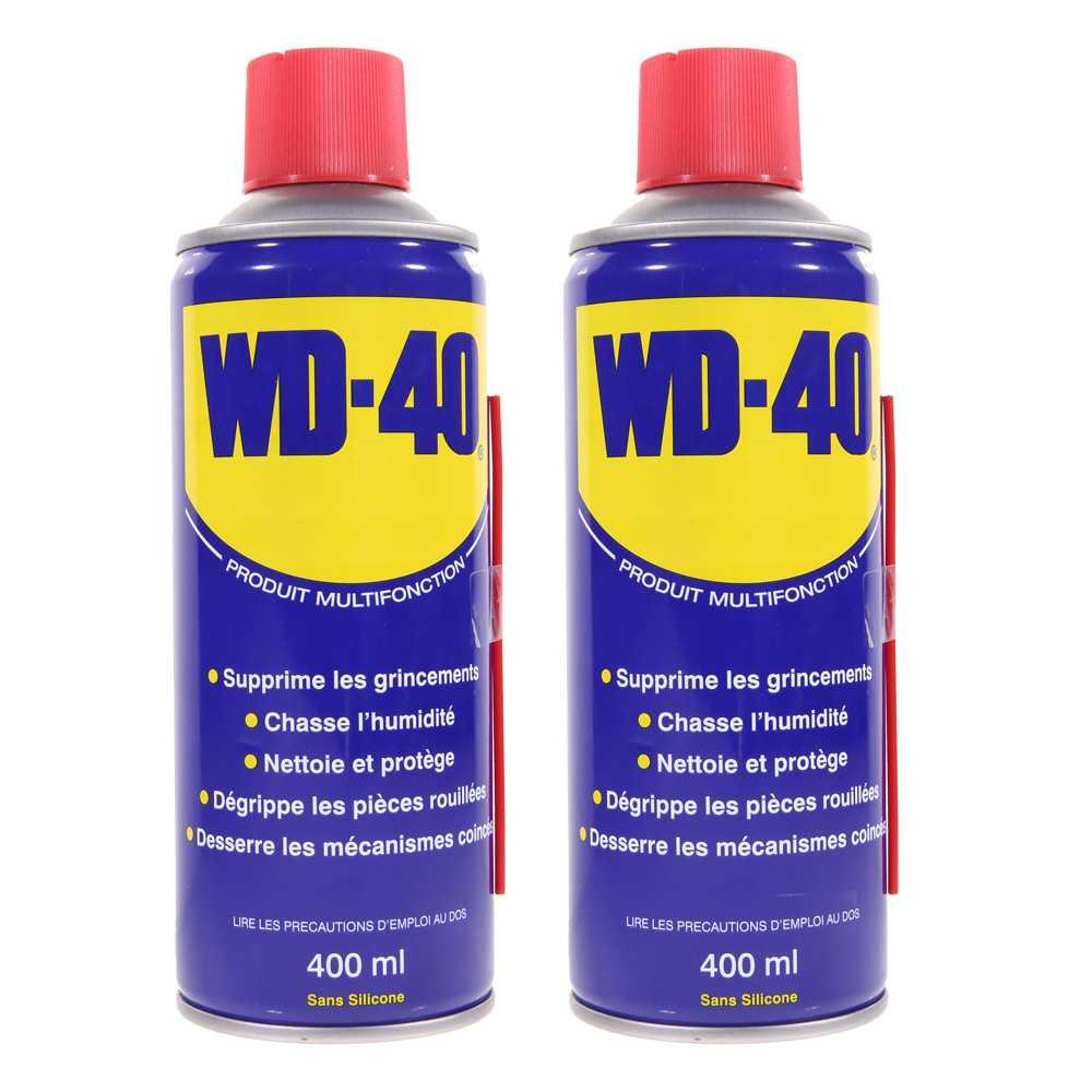 A rosol wd40 400ml nettoyant d grippant lubrifiant - Produit contre l humidite ...
