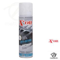 Nettoyant résine lame taille-haie et chaîne tronçonneuse. X'OIL Aérosol 250ml.